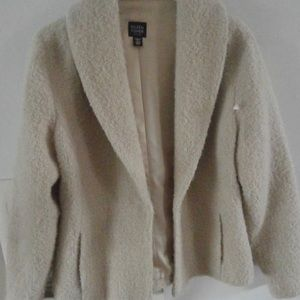 Eileen Fisher blazer boulce jacket size medium